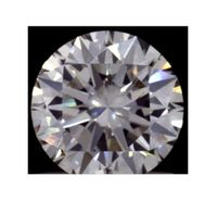 1.00ct Lab Grown Round Brilliant Diamond, I color, VS2 clarity, IGI
