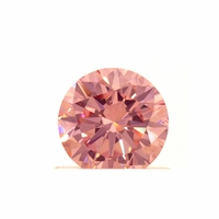 .67ct Round Brilliant Lab Grown Fancy Intense Pink Diamond