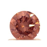 .78ct Fancy Intense Orangy Pink Lab Grown Diamond, IGI certified