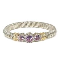 Diamond and Amethyst Bracelet by Alwand Vahan