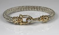 Diamond Buckle Bracelet by Alwand Vahan