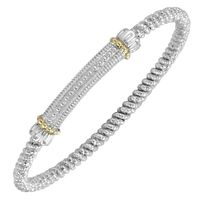 Alwand Vahan Textured Bar Bracelet