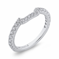 Boutique White Gold Diamond Wedding Band