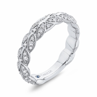 Carizza Braided Wedding Band