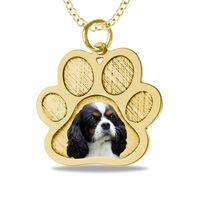 Doggie Paw and Picture Pendant