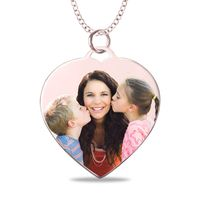 Heart Shaped Picture Pendant