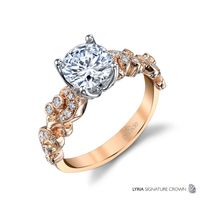 18kt Rose Gold and Diamond Engagement Ring by Parade, Hera