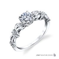 18K Gold and Diamond Engagement Ring by Parade