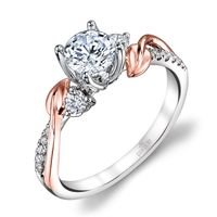18kt White Gold, Rose Gold, and Diamond Ring by Parade