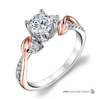 Lyria Leaf Bypass Diamond Ring by Parade