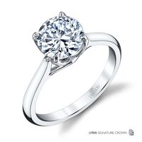 18kt White Gold Diamond Solitaire by Parade