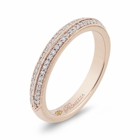 Promezza Rose Gold Wedding Band
