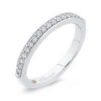 Promezza White Gold Diamond Wedding Band