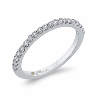 Promezza White Gold Diamond Wedding Ring