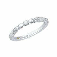 Promezza White Gold Wedding Band