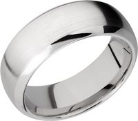 Satin Finish Cobalt Chrome Ring by Lashbrook Designs