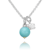 Sterling Silver Alwand Vahan Amazonite Necklace