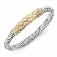 Vahan Diamond Tufted Design Bracelet