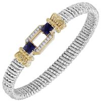 Vahan Diamond & Iolite Bangle Bracelet