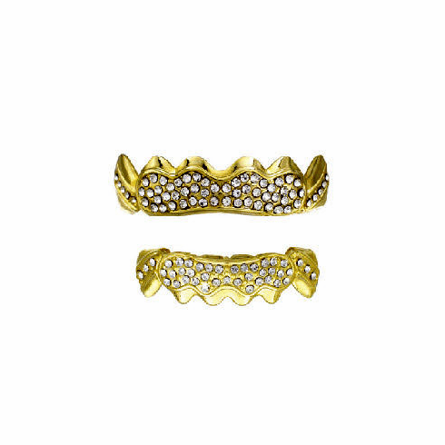 Gold Grillz Set Diddy