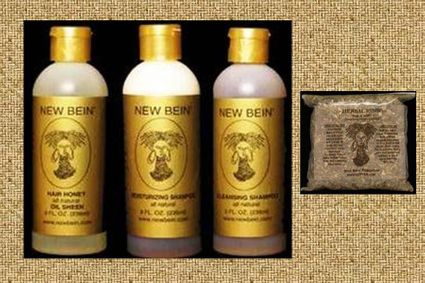 New Bein' Hair Care Product Deluxe