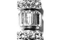 Crystal Clear Pillar Bullion Loc Jewel