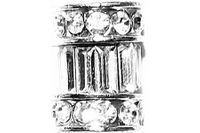 Crystal Column Bullion Loc Jewel