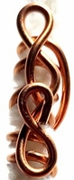 Copper Hair Art Wire Style 7