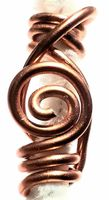 Copper Wire Hair Jewelry