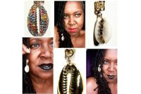 COWRIE SHELL LOC JEWELRY