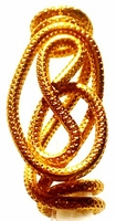 Gold Wire Hair Jewelry Freestyle One