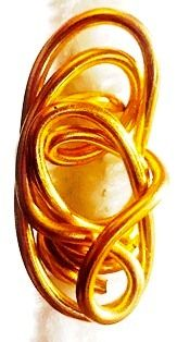 Light Gold Wire Hair Jewelry Freestyle 2