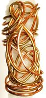 Copper Gold Wire Hair Jewelry