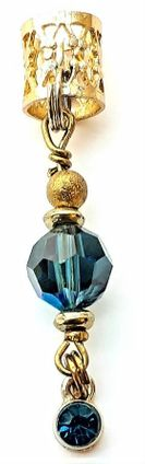 Montanl Blue Crystal Crown Jewel