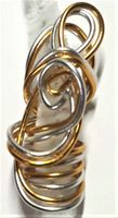 Silver Gold Wire Freestyle One
