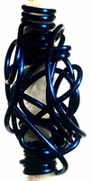 Wire Wrap Orbit Cobalt Blue