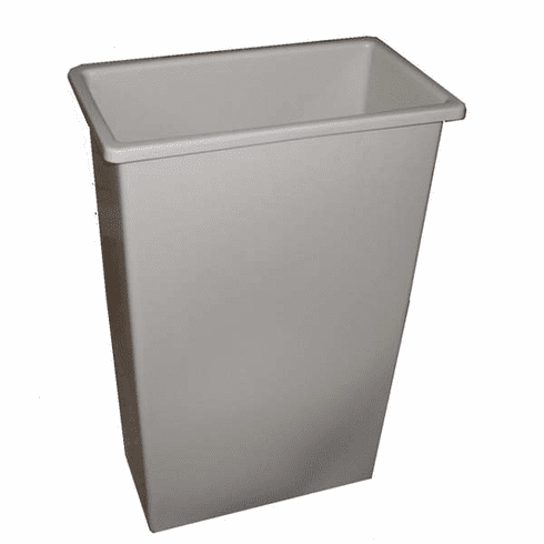 23 Gallon  Waste Basket/Container #8323 Wall Hugger