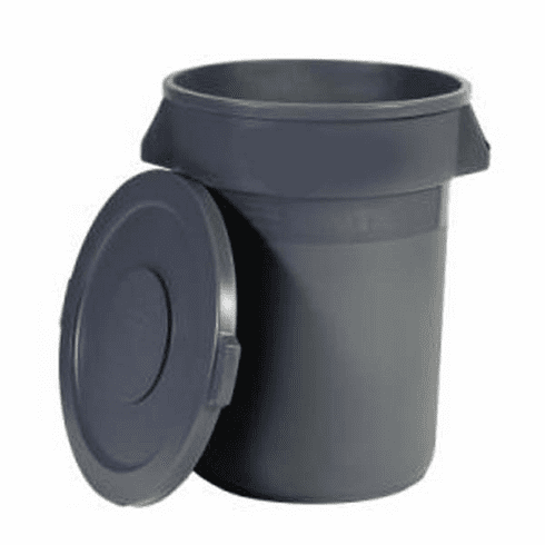 32 Gallon Brute Commercial Garbage Waste Container