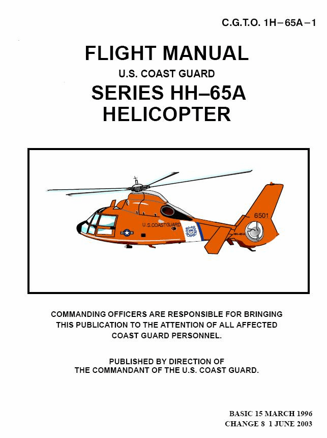 Eurocopter HH-65A Dolphin Flight Manual USCG