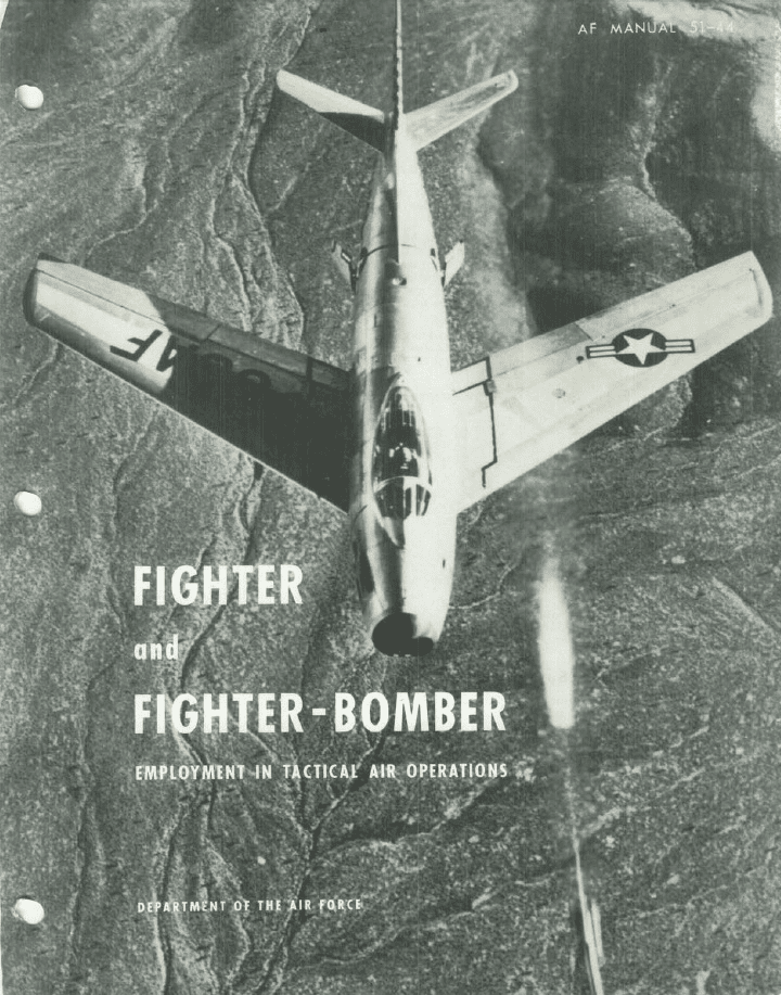 Fighter & Fighter-Bomber Employment In Tactical Air Operations Manual USAF