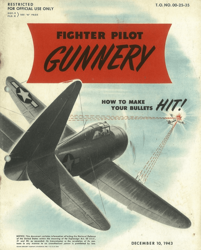 Fighter Pilot Gunnery Training Manual USAAF