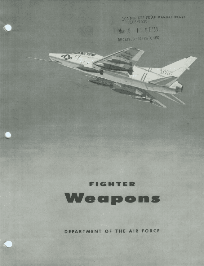 Fighter Weapons Manual USAF