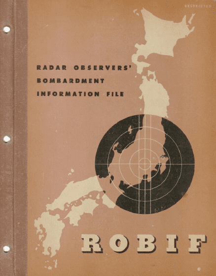 Radar Observers' Bombardment Information File USAAF