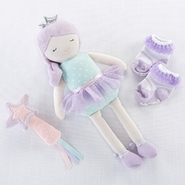 Baby Aspen Phoebe Fairy Princess Plush Doll with Wand and Socks