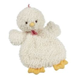 Baby Ganz Happy Hill Flat-A-Pat Blanket - Chicken 18""