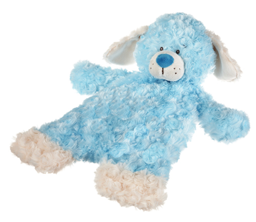 Baby Ganz Flat A Pat Puppy Blanket Blue 18 Quot Hearts
