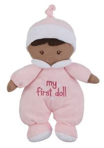 Baby Ganz - My First Doll Plush Toy with Dark Complexion