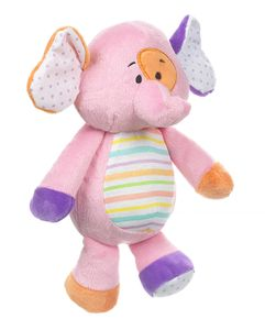 Baby Ganz Soft and Simple Elephant Plush 11""