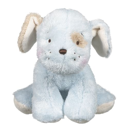 Baby Ganz Wuzzies Blue Puppy Plush Toy 8""