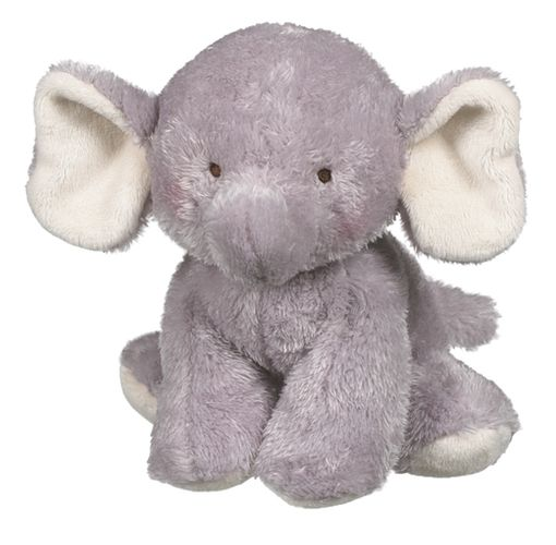 Baby Ganz Wuzzies Elephant Plush Toy 8""